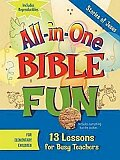 All-in-One Bible Fun for Elementary Children: Stories of Jesus