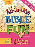 All-in-One Bible Fun for Preschool Children: Fruit of the Spirit