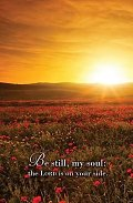 Be Still, My Soul Hymn Bulletin (Pkg of 50)