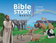Bible Story Basics Pre-Readers Leaflets Fall 2019