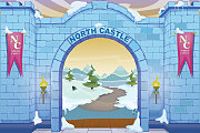 Vacation Bible School (VBS) 2020 Knights of North Castle Decorating Mural