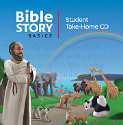 Bible Story Basics Student Take-Home CD (Pkg of 5)