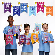 Vacation Bible School (VBS) 2020 Knights of North Castle Decorating Castle Mobiles (Pkg of 6)