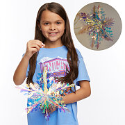 Vacation Bible School (VBS) 2020 Knights of North Castle Decorating Metallic Snowflakes (Pkg of 2)