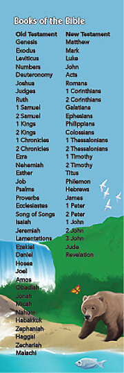 Bible Story Basics Books of the Bible Bookmark (Pkg of 25)