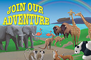 Bible Story Basics Join Our Adventure Postcard (Pkg of 25)