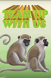 Bible Story Basics Team Up With Us Postcard (Pkg of 25)