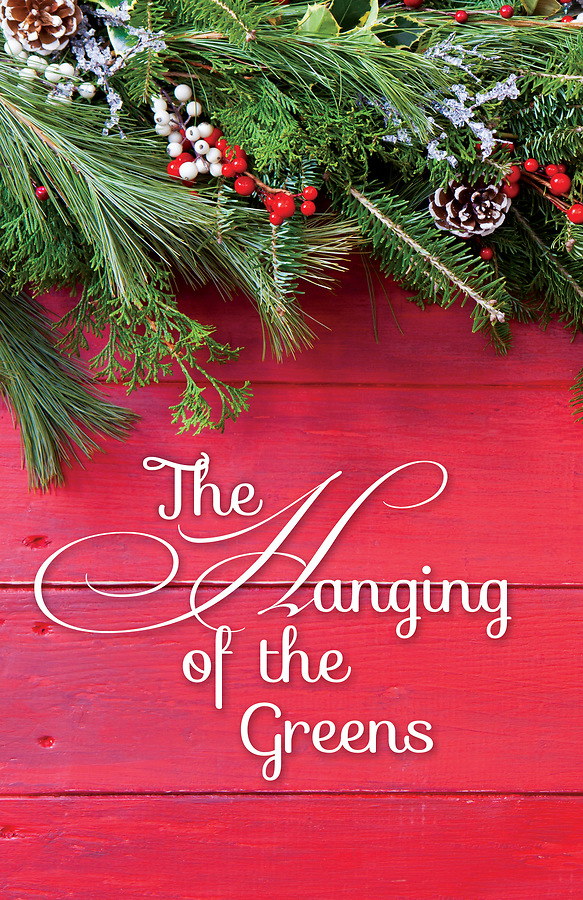 The Hanging Of The Greens Holly Christmas Bulletin Pkg Of 50
