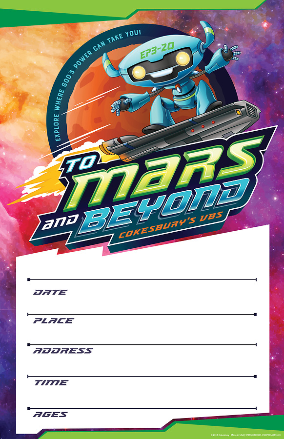 vacation bible school vbs 2019 to mars and beyond large